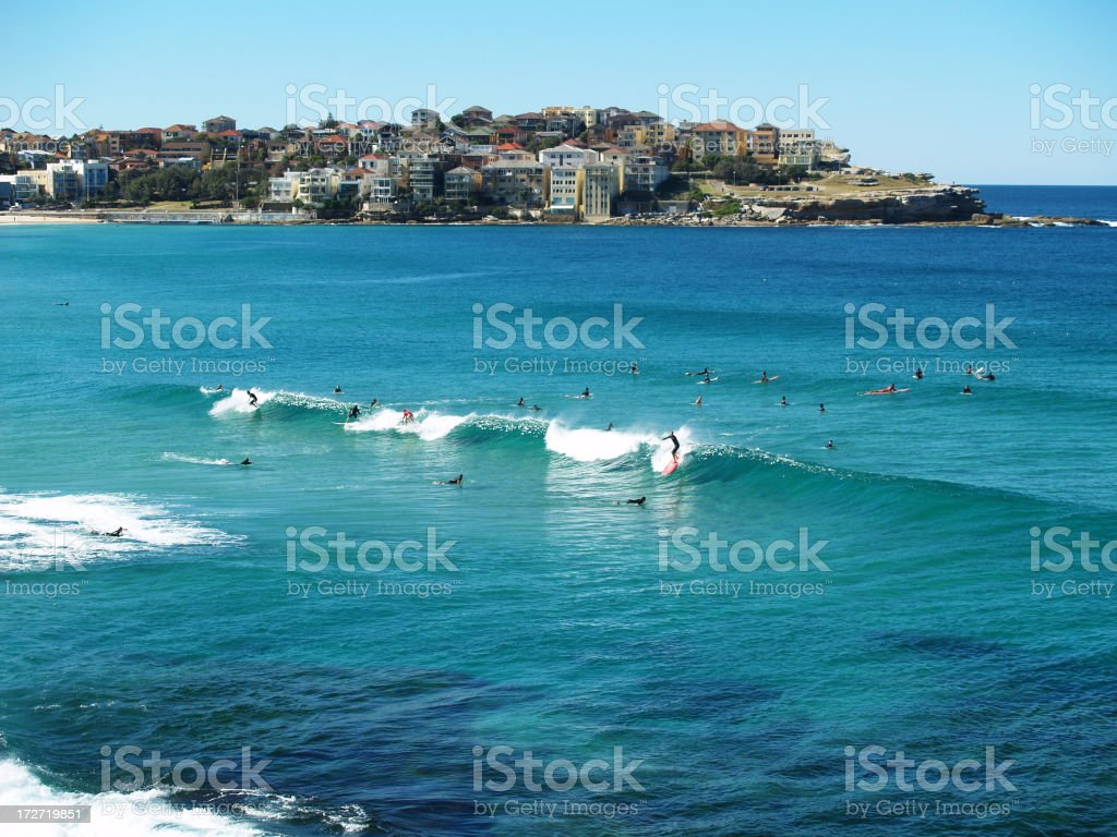 Sydney's Bondi Beach stock photo