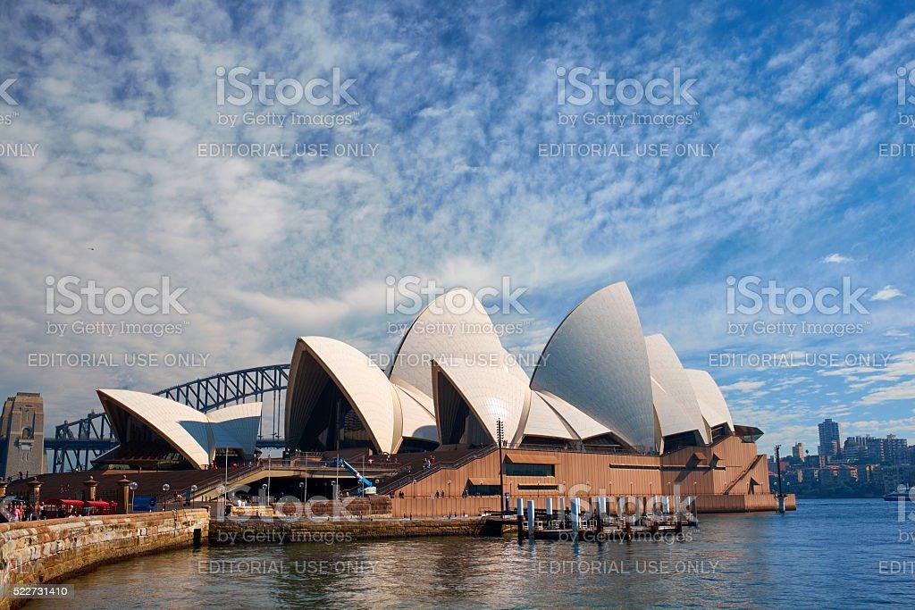 Sydney's Majestic Opera House stock photo