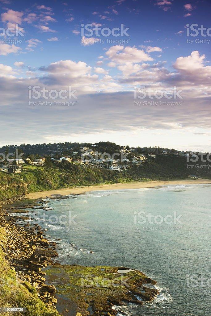 Sydney's Northern Beaches - Bungan Beach royalty-free stock photo