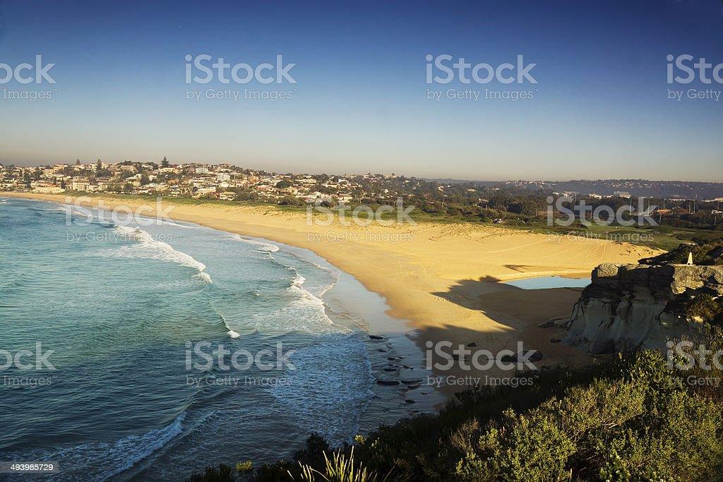 Sydney's Northern Beaches - Curl Curl Beach stock photo