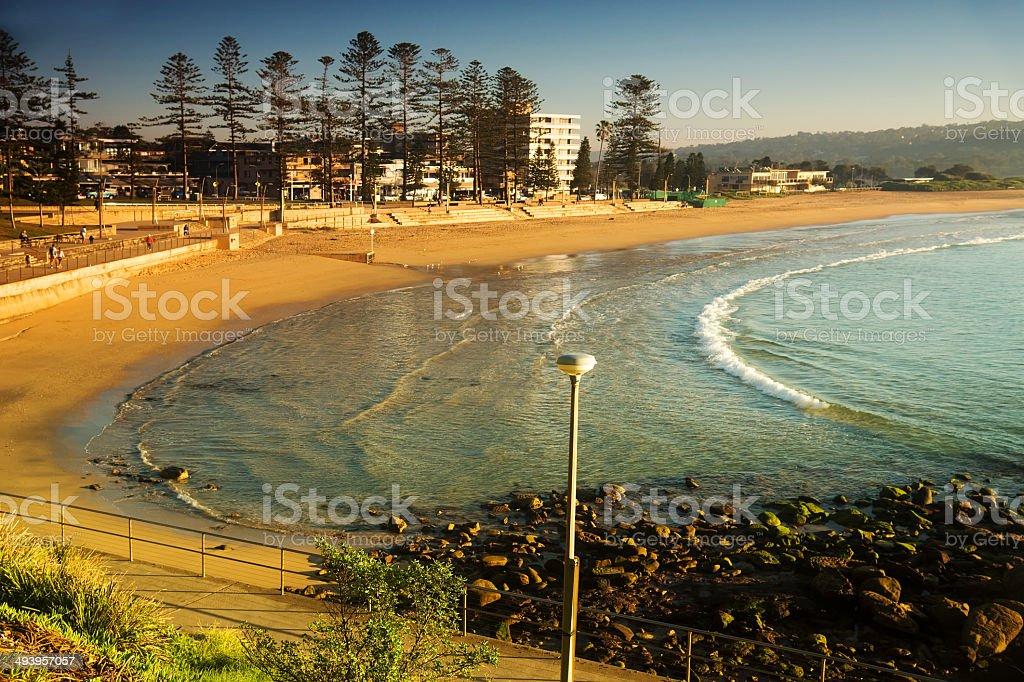 Sydney's Northern Beaches - Dee Why Beach stock photo