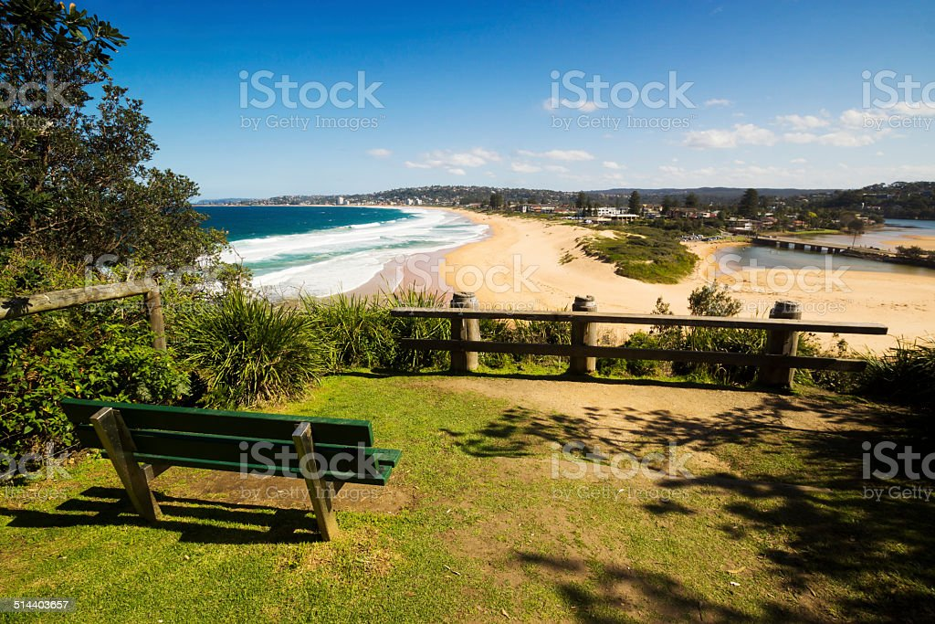 Sydney's Northern Beaches - Narrabeen Beach stock photo
