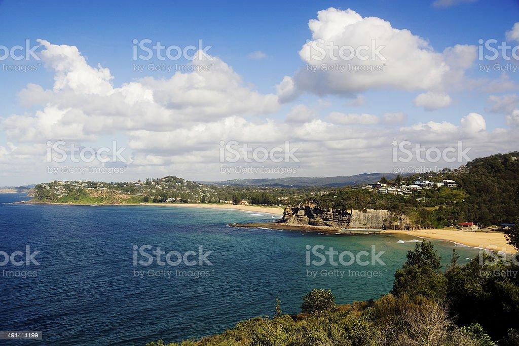 Sydney's Northern Beaches - Newport & Bilgola Beach stock photo