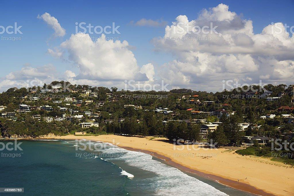 Sydney's Northern Beaches - Whale Beach stock photo