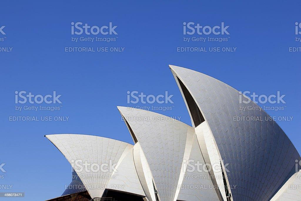 Sydney's Opera House royalty-free stock photo