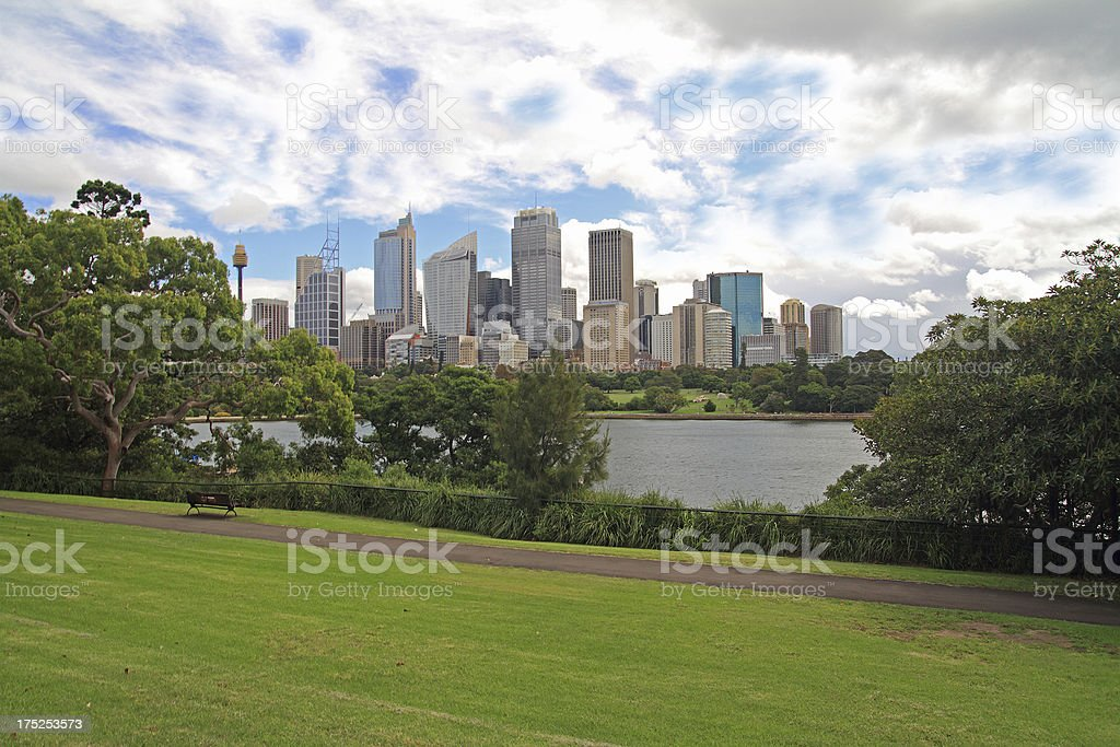 Sydney's Royal Botanic Gardens royalty-free stock photo