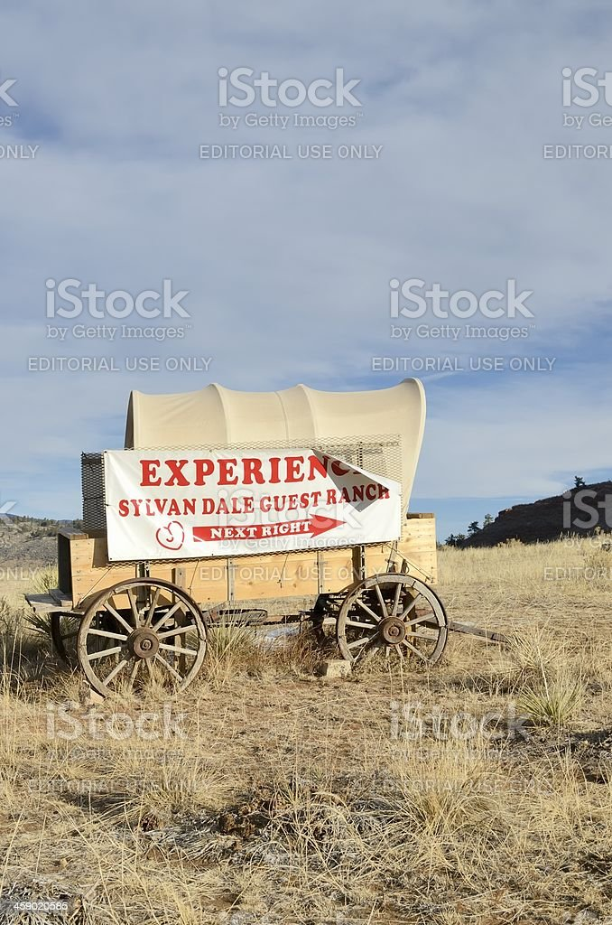 Sylvan Guest Ranch outside of Loveland royalty-free stock photo