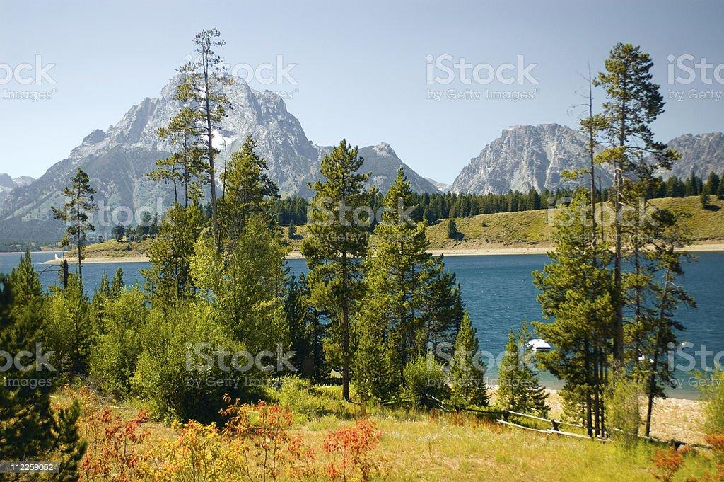 sylvan lake royalty-free stock photo