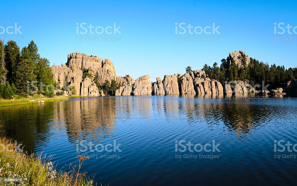 Sylvan Lake stock photo