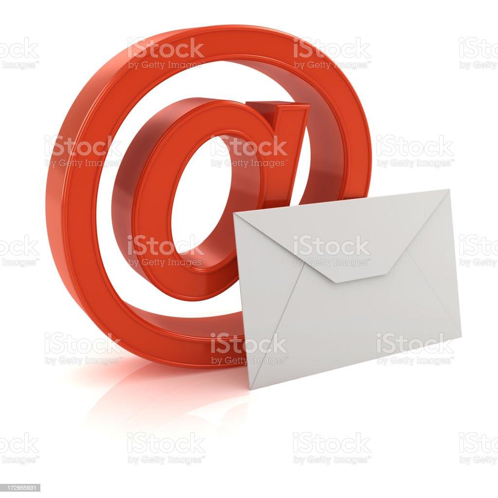 @ symbol and envelope royalty-free stock photo