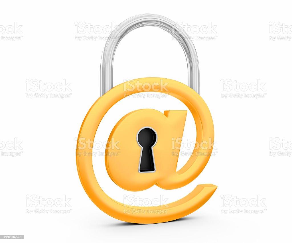 @ symbol as padlock stock photo