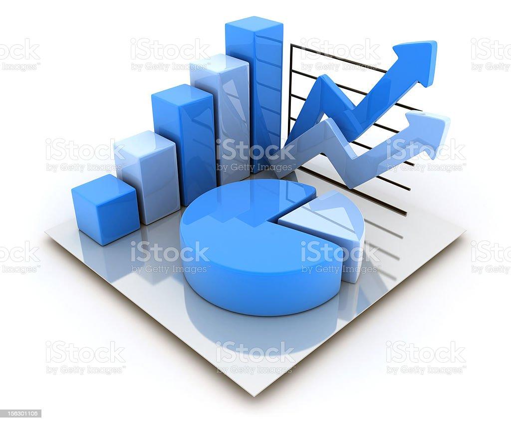 Symbol diagrams royalty-free stock photo