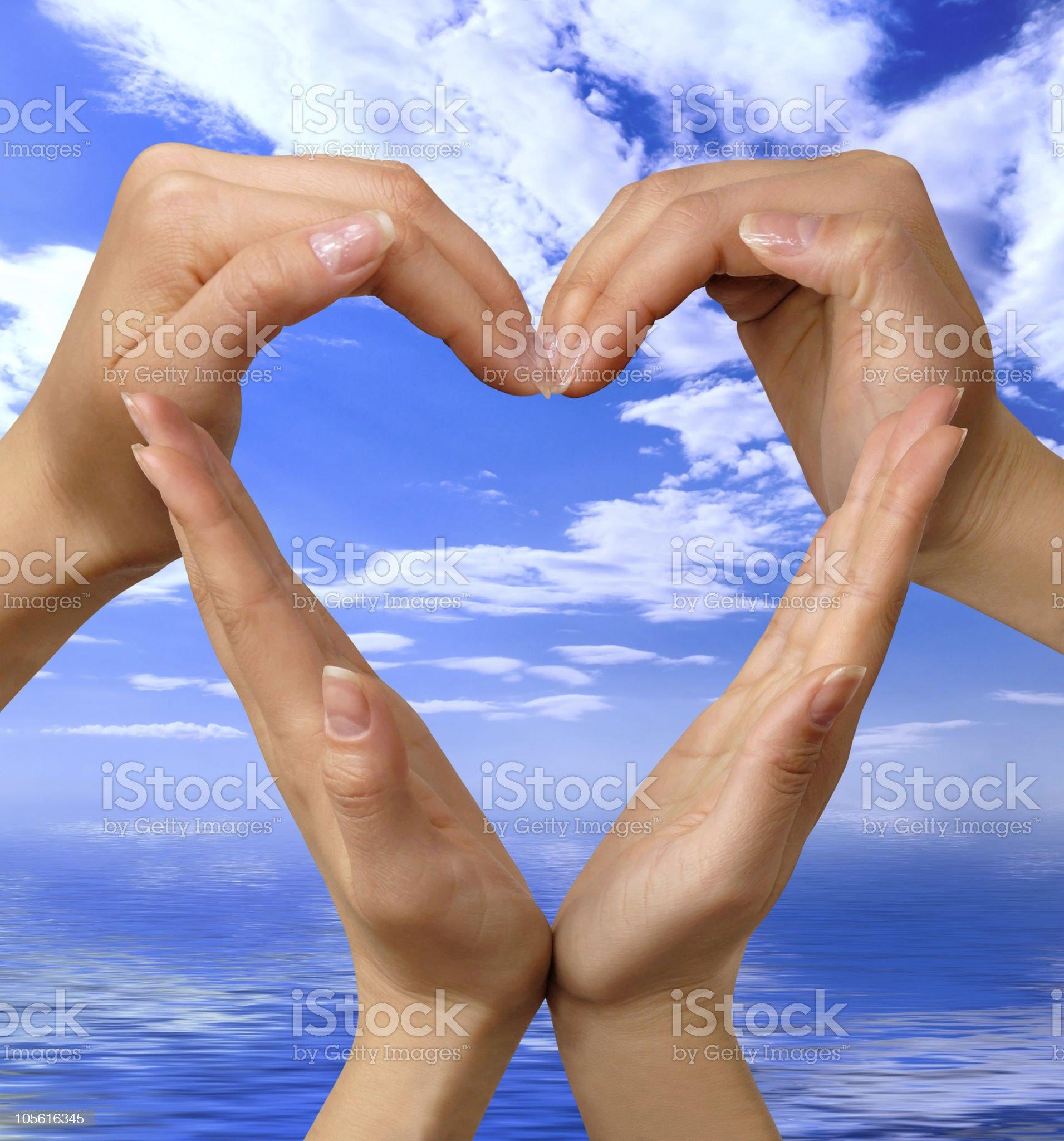 Symbol Heart 4 royalty-free stock photo