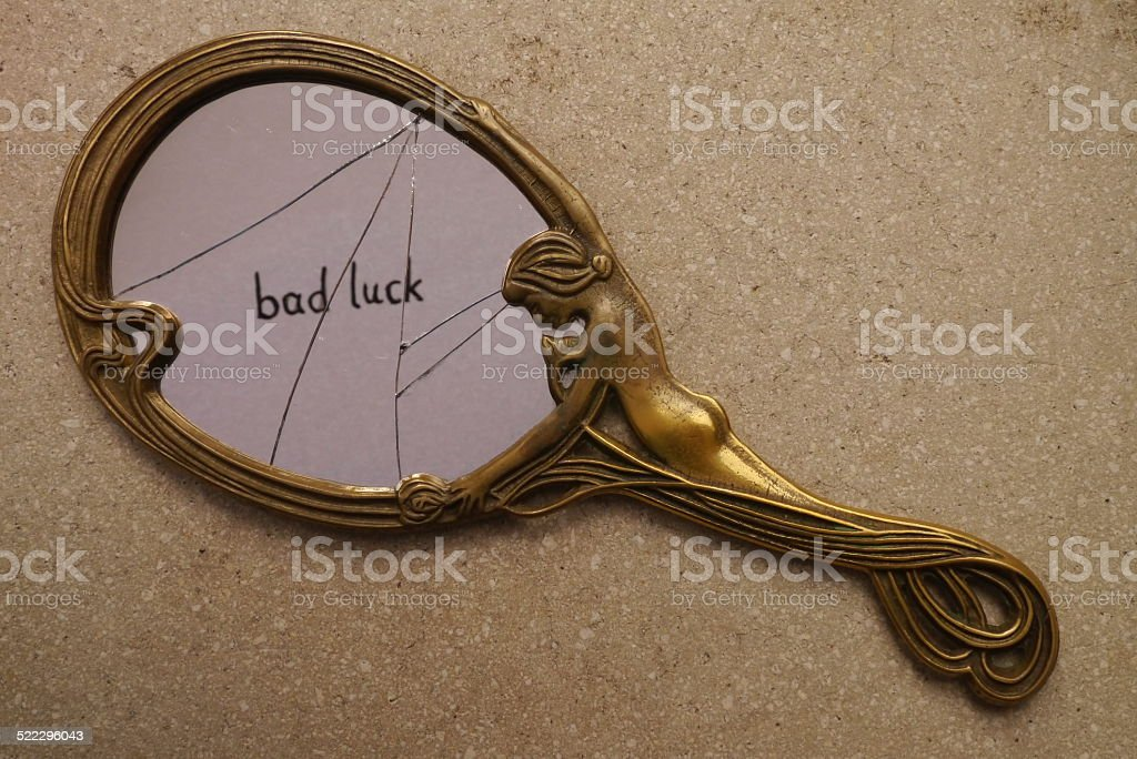 Symbol of bad luck stock photo