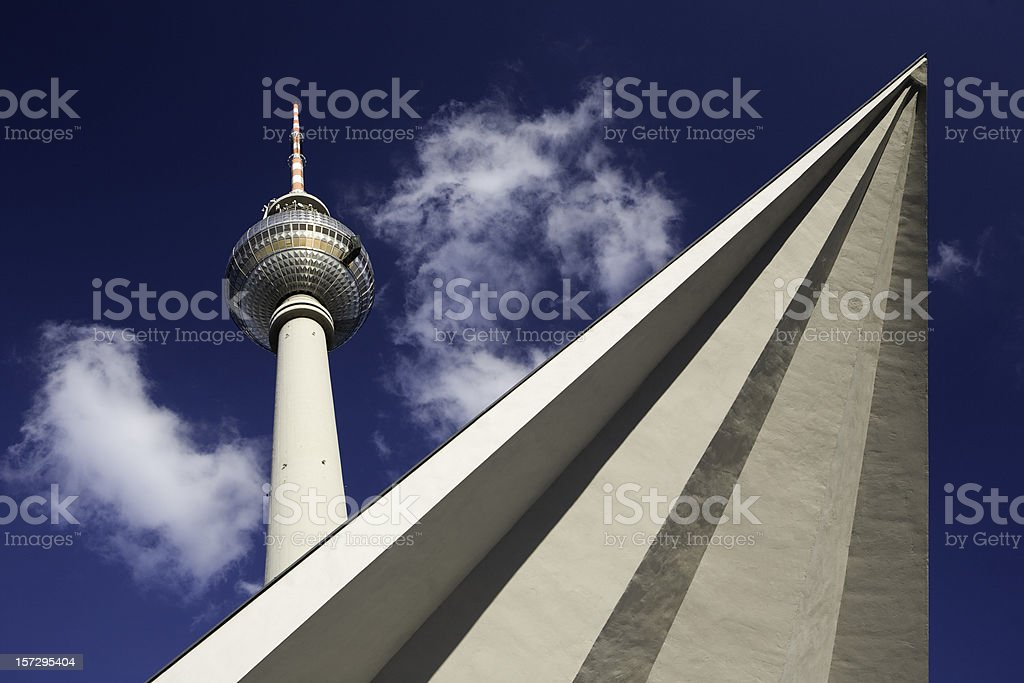 Symbol of Berlin royalty-free stock photo