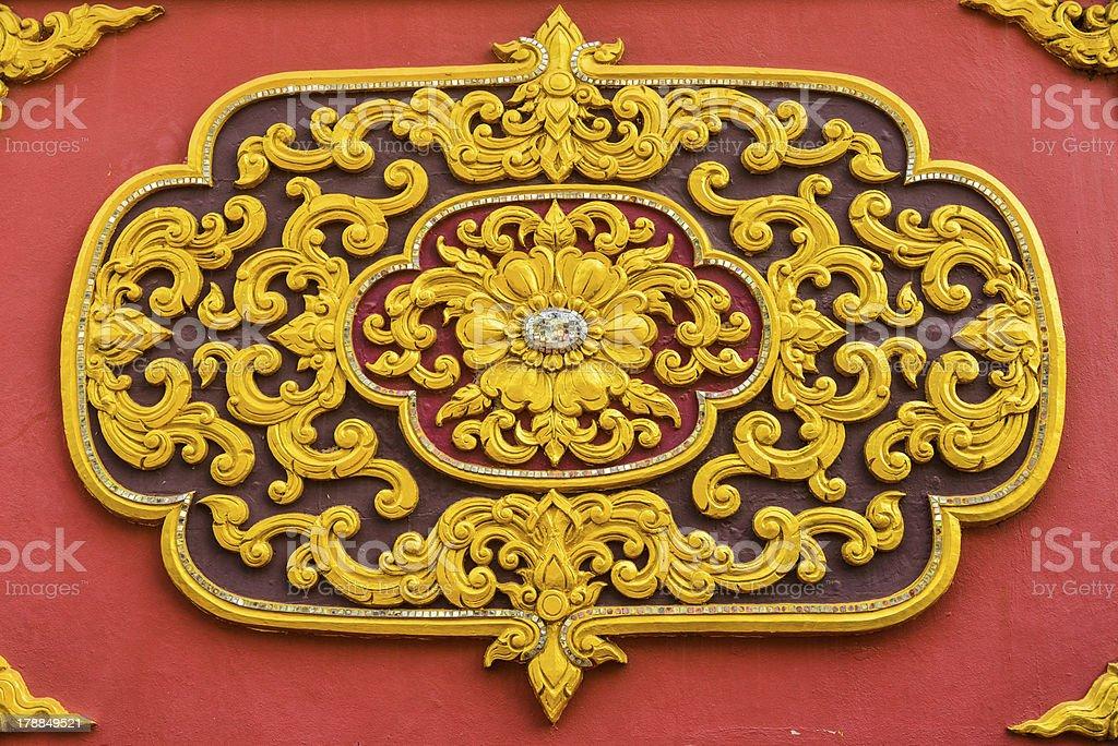 Symbol of Buddhism royalty-free stock photo