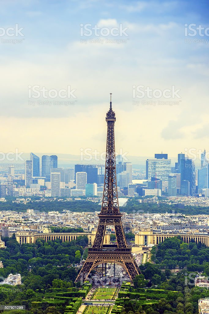 symbol of France stock photo