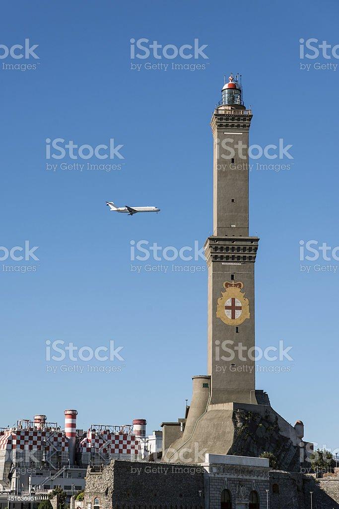 symbol of Genoa, Italy. royalty-free stock photo