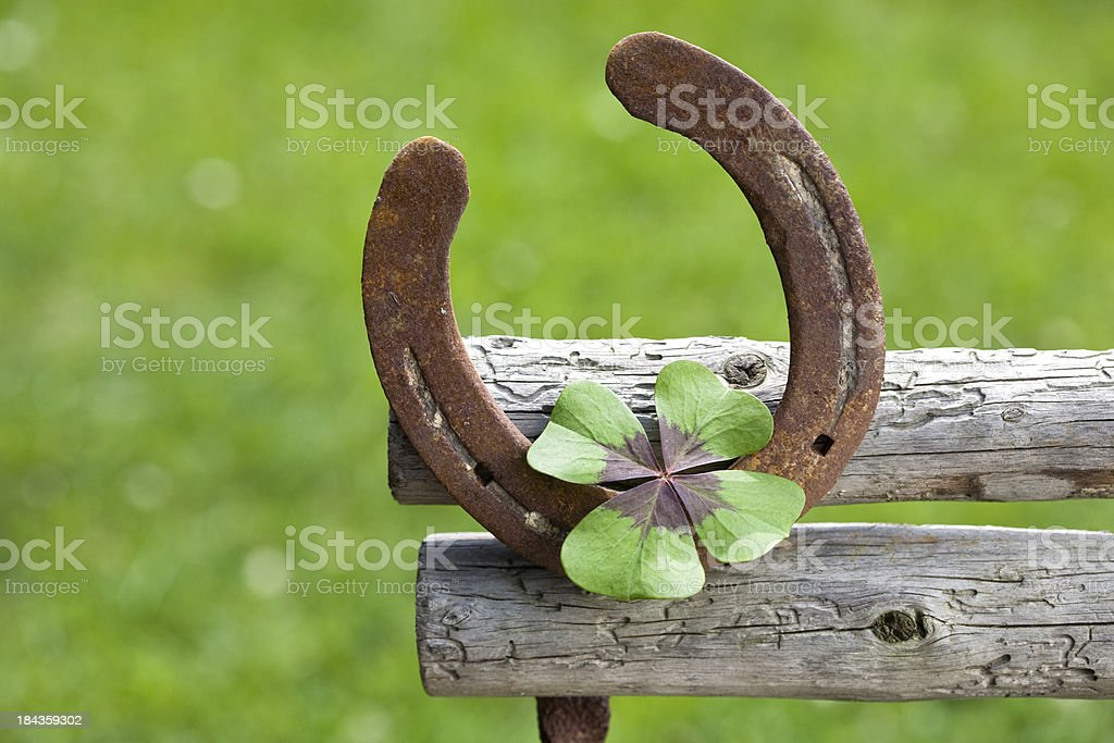 symbol of good luck stock photo