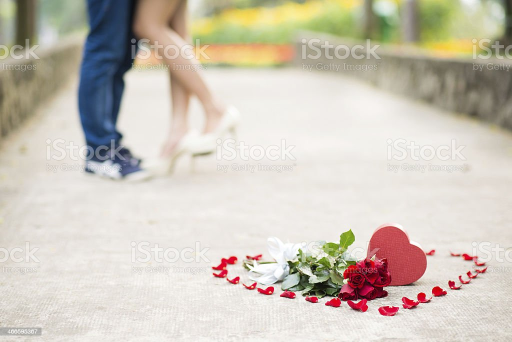 Symbol of love royalty-free stock photo