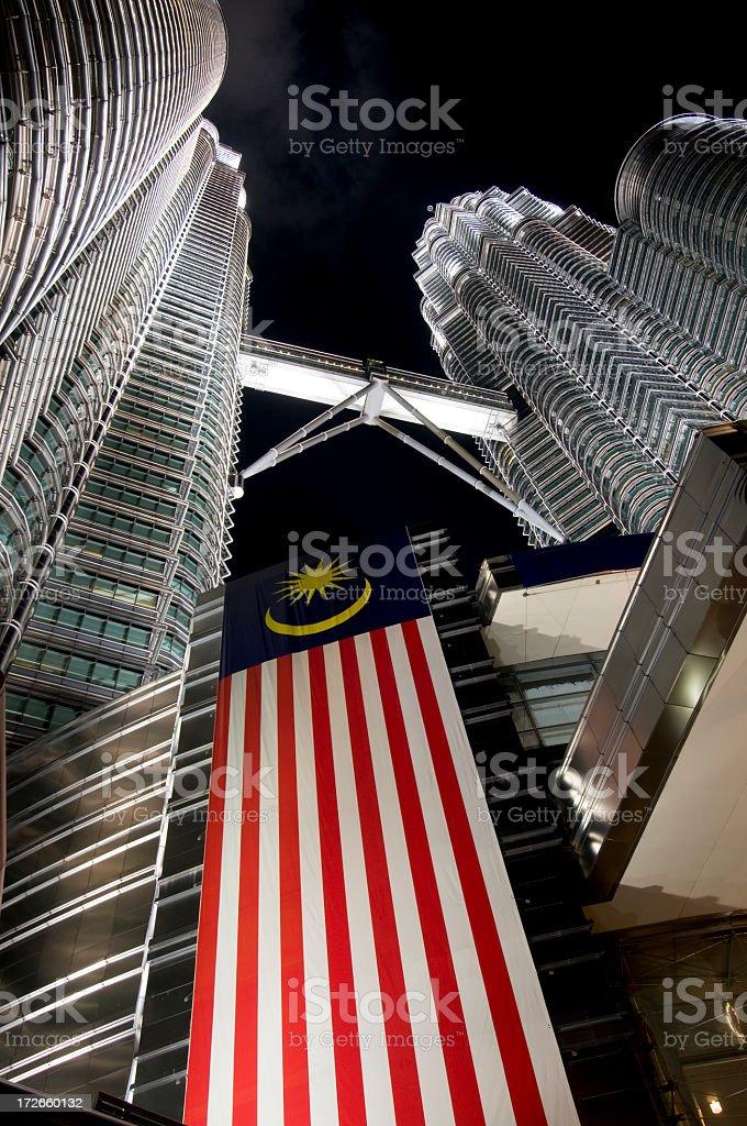 Symbol of Malaysia royalty-free stock photo