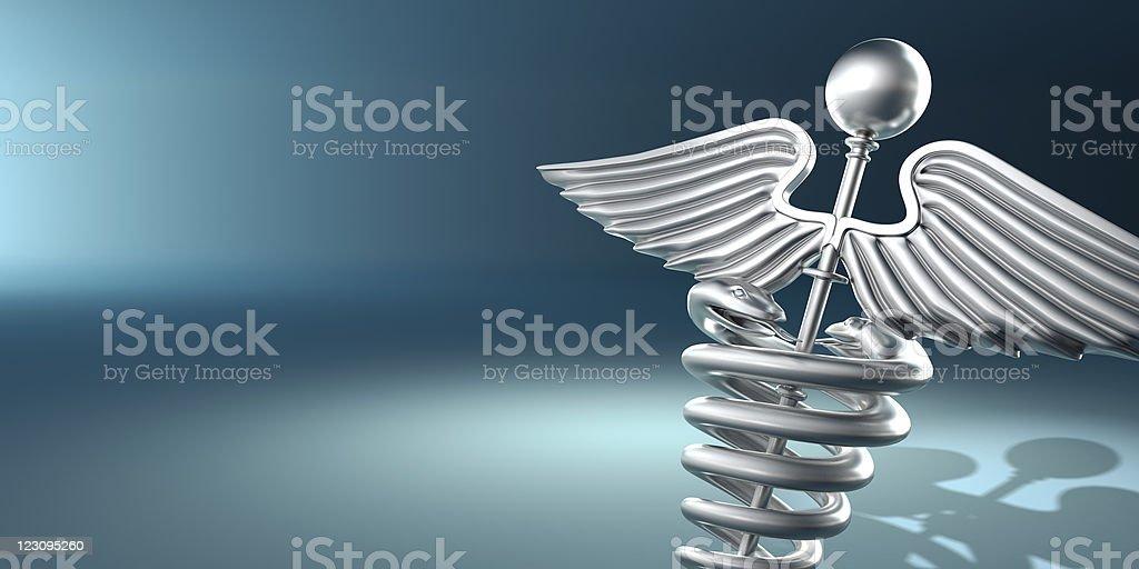Symbol of medicine vector art illustration