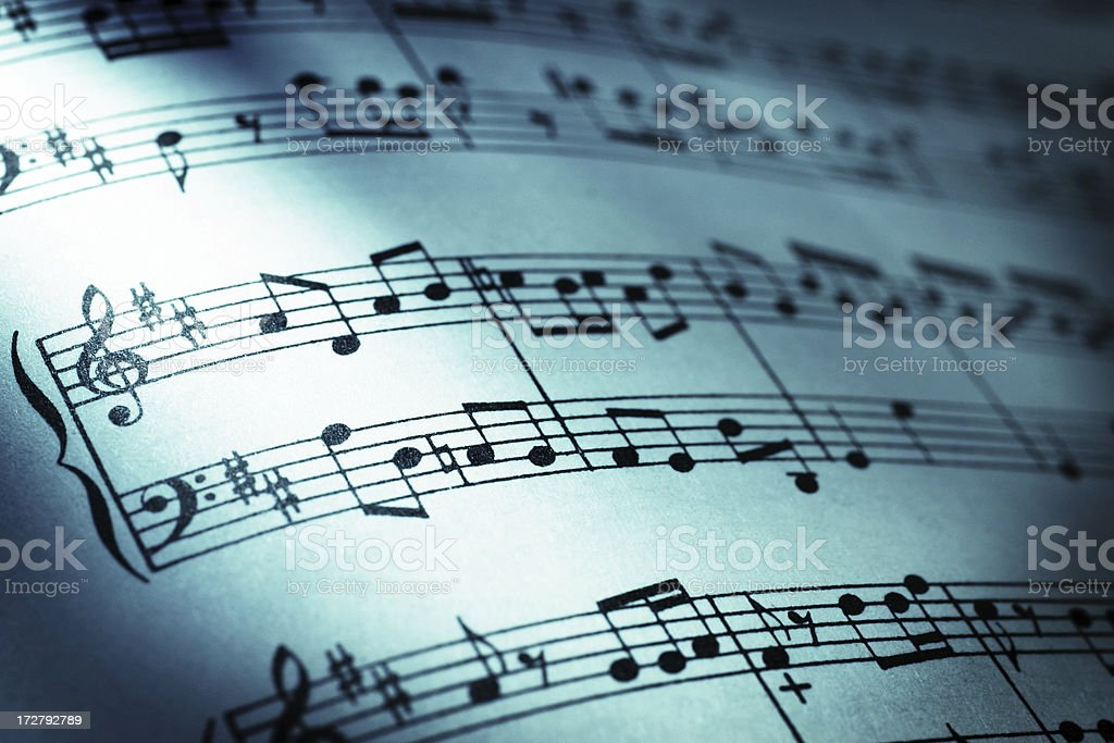 Symbol of Rhythm stock photo