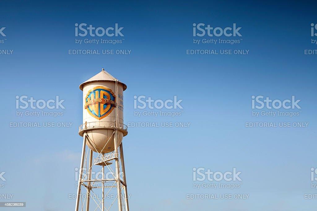 Symbol of Warner Bros. Entertainment, Inc stock photo