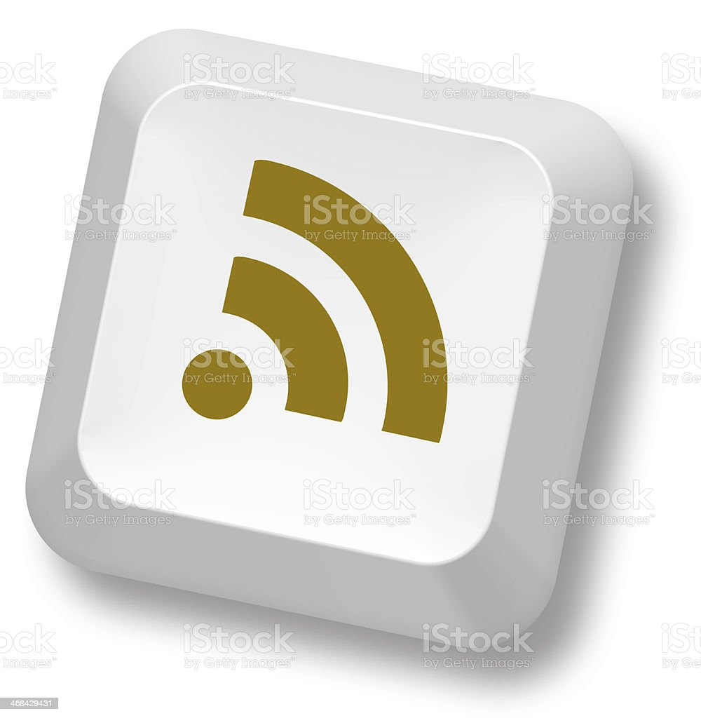 Symbol Of Wifi On Button Of Keyboard Stock Photo 468429431 Istock