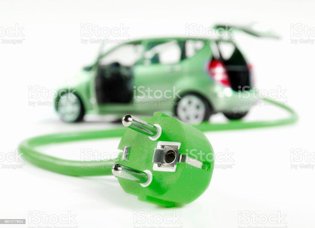 Symbol photo electromobility stock photo
