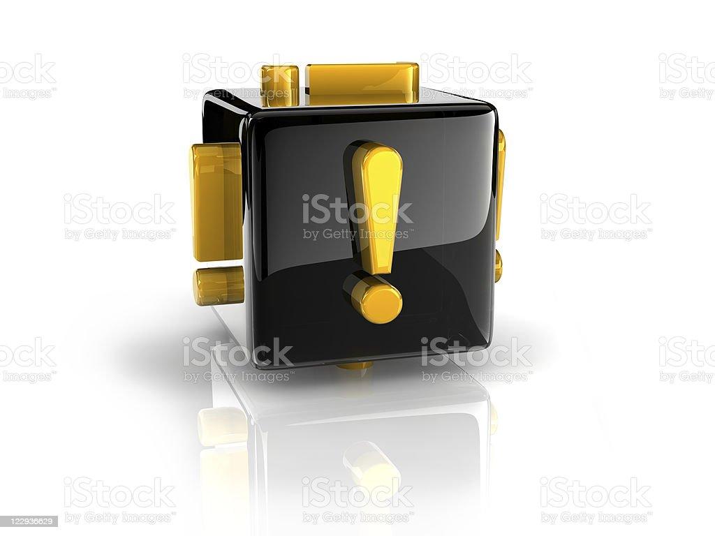 ! symbol stock photo