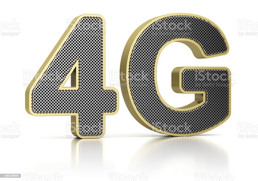 4G Symbol royalty-free stock photo