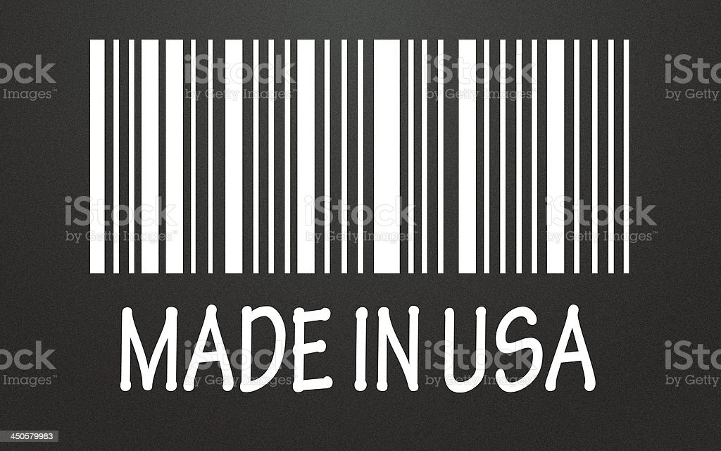 MADE IN USA symbol royalty-free stock photo