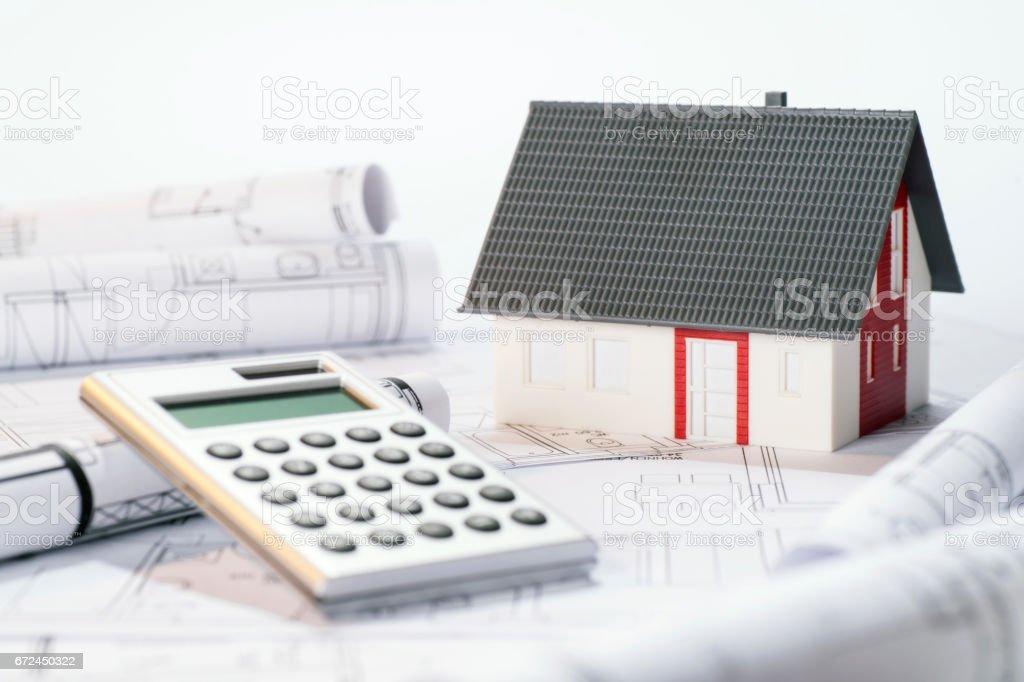 Symbolfoto Finanzierung einer Immobilie stock photo