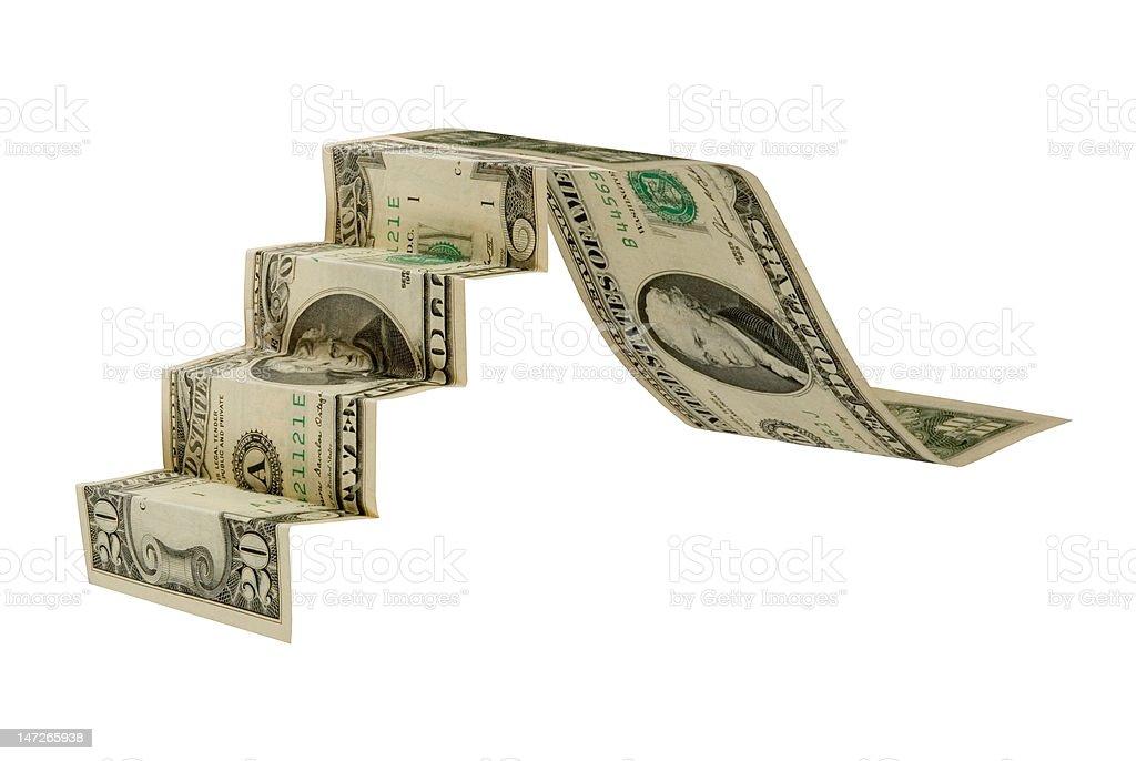 Symbolic image of  economic depression stock photo