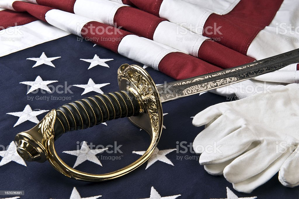 Symbolic of the US Marine Corps royalty-free stock photo