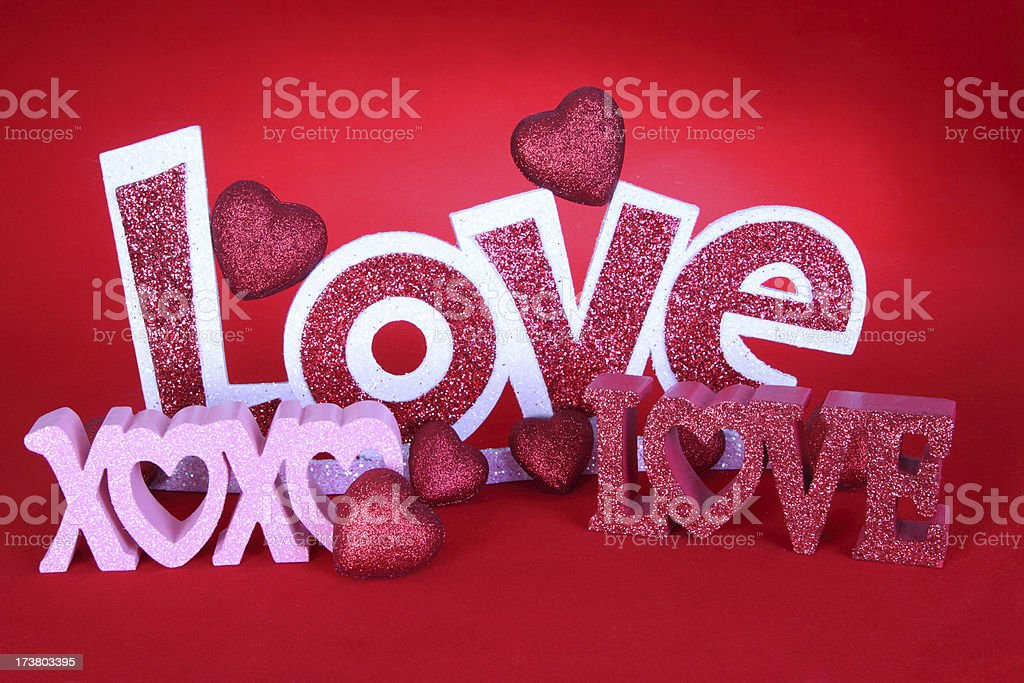 Symbols of Love stock photo