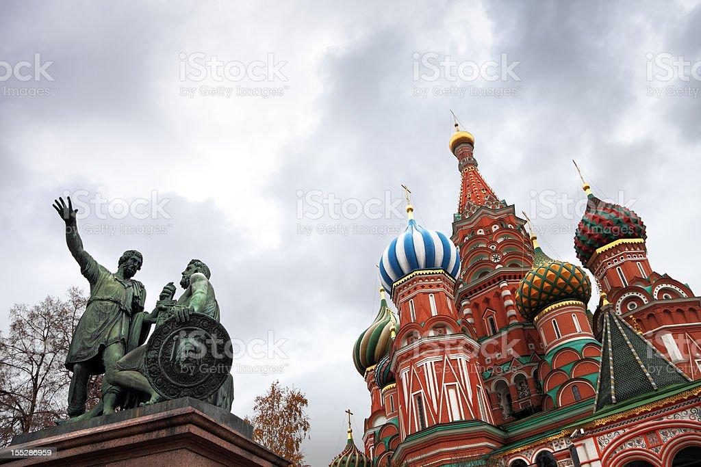 Symbols of Moscow stock photo