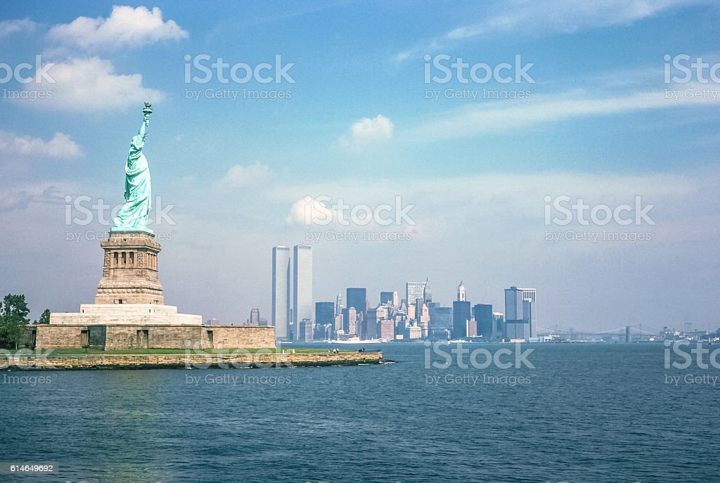 Symbols of NYC stock photo