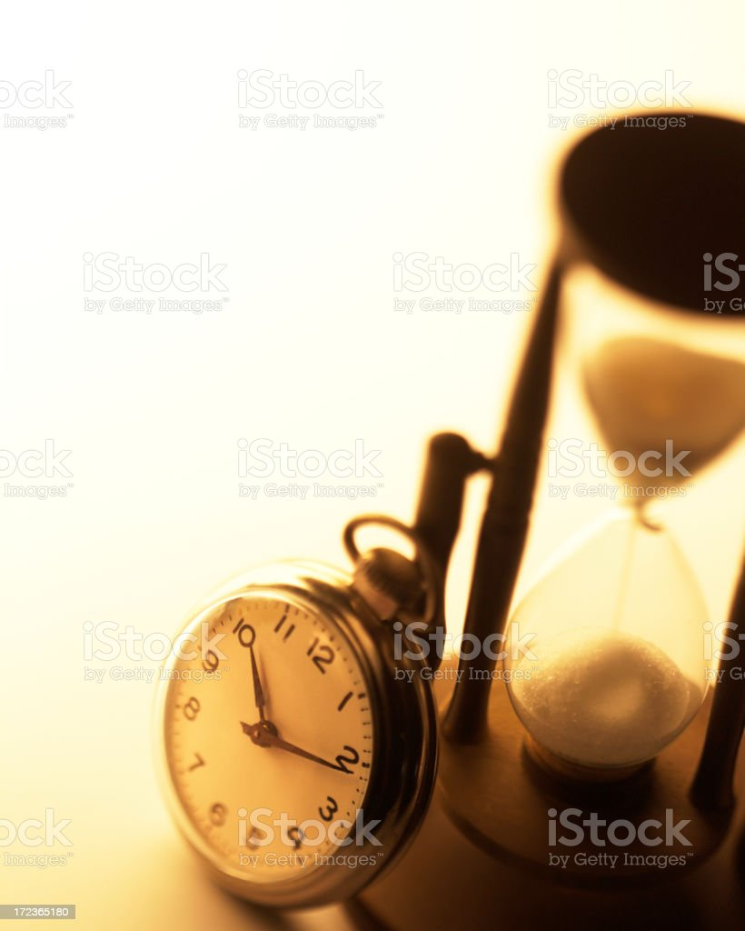 Symbols of Time royalty-free stock photo