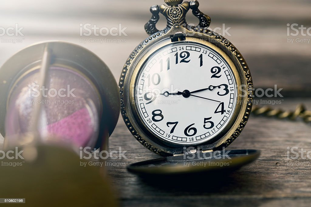 Symbols of time stock photo