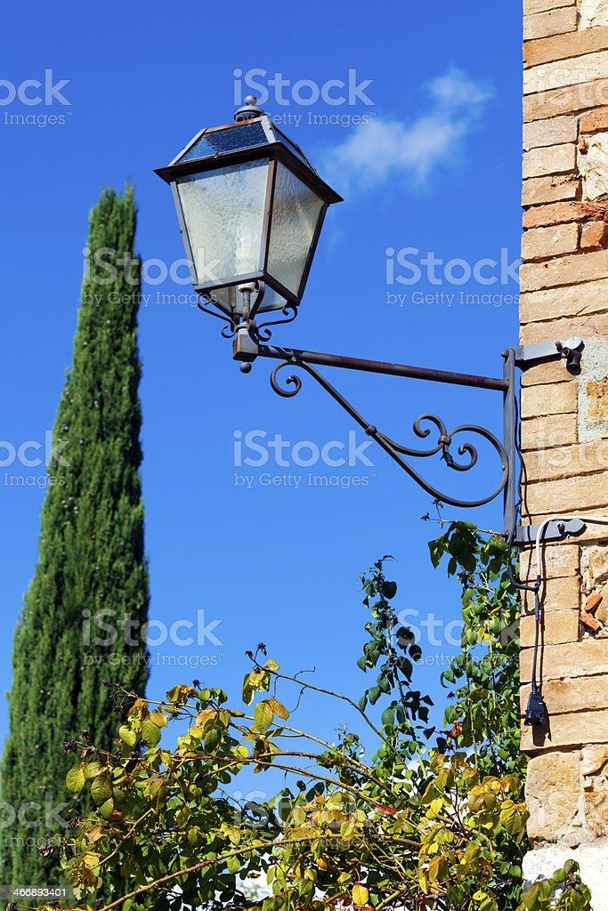Symbols of Tuscany, Italy royalty-free stock photo