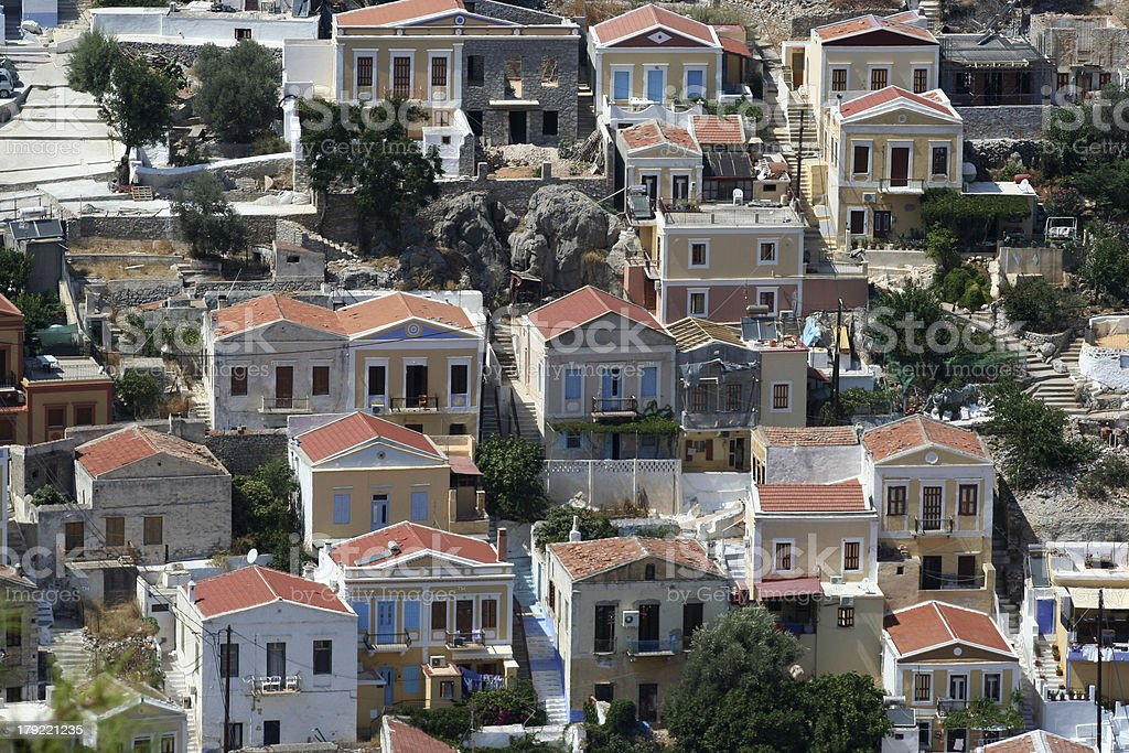 Symi, Greece royalty-free stock photo