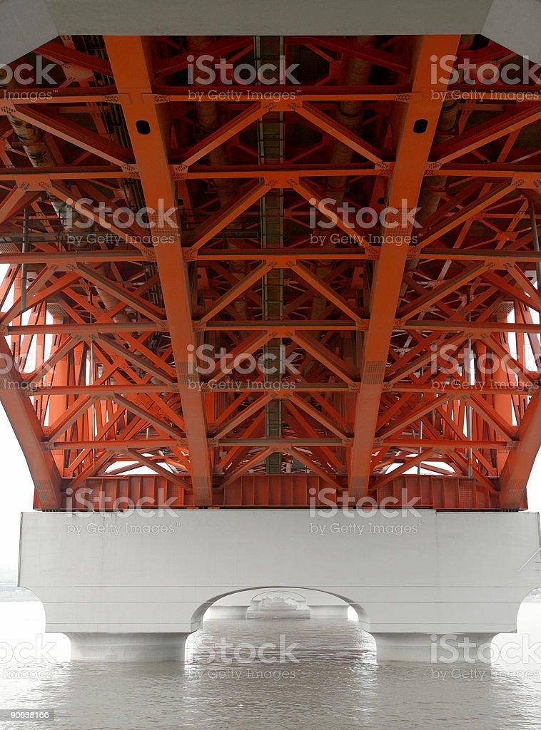 Symmetric Bridge stock photo