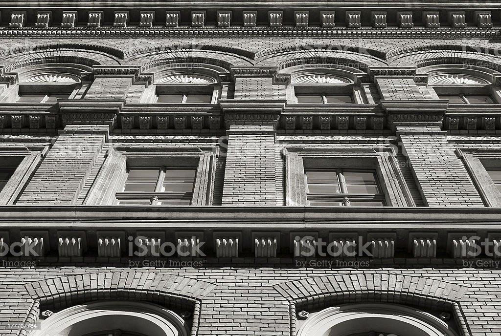 Symmetrical facade royalty-free stock photo