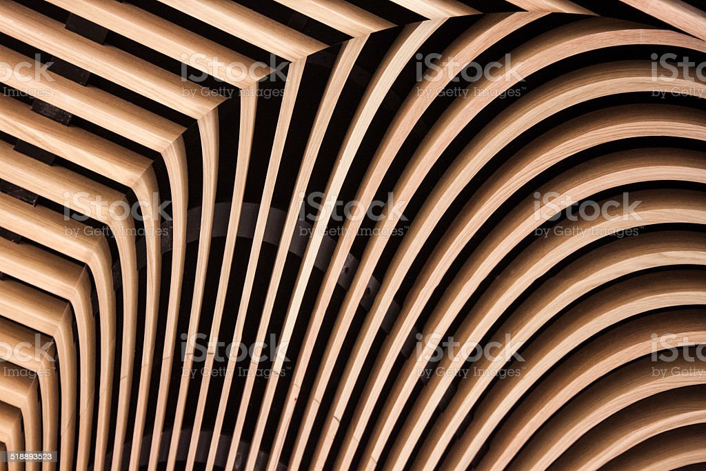 Symmetrical lines sandy brown color stock photo