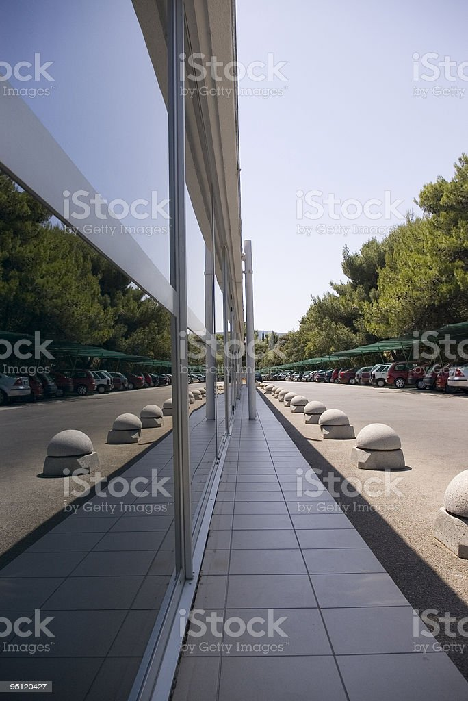 symmetrical reflection stock photo
