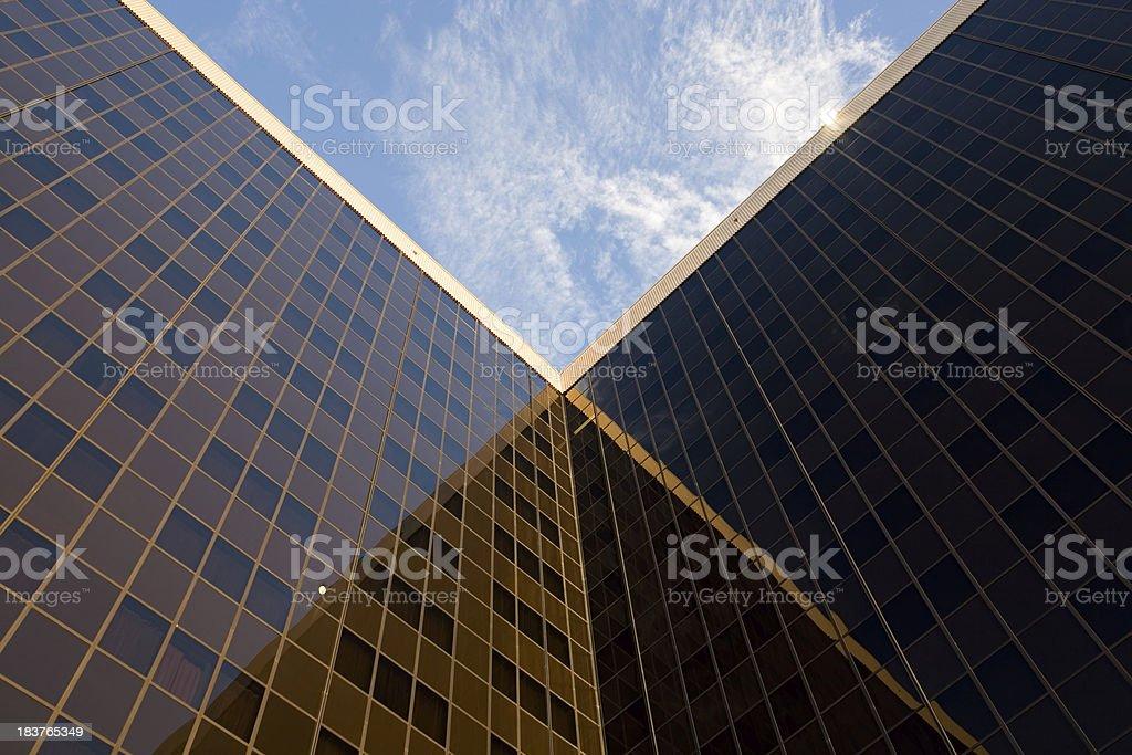Symmetrical Tower royalty-free stock photo