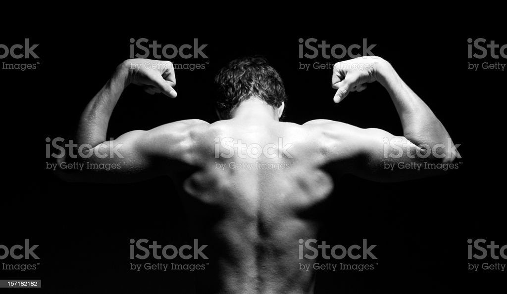 Symmetry of Strength royalty-free stock photo