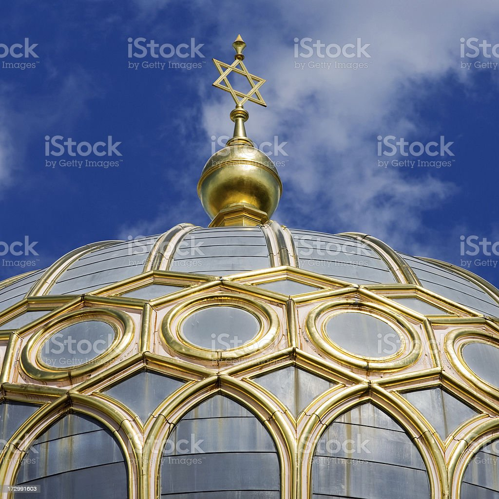 Synagogue in Berlin stock photo